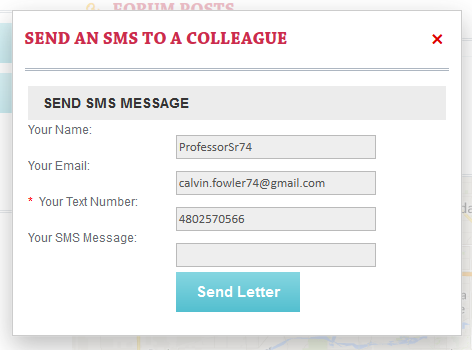 Send SMS from member Profile :: BoonEx Unity Forums