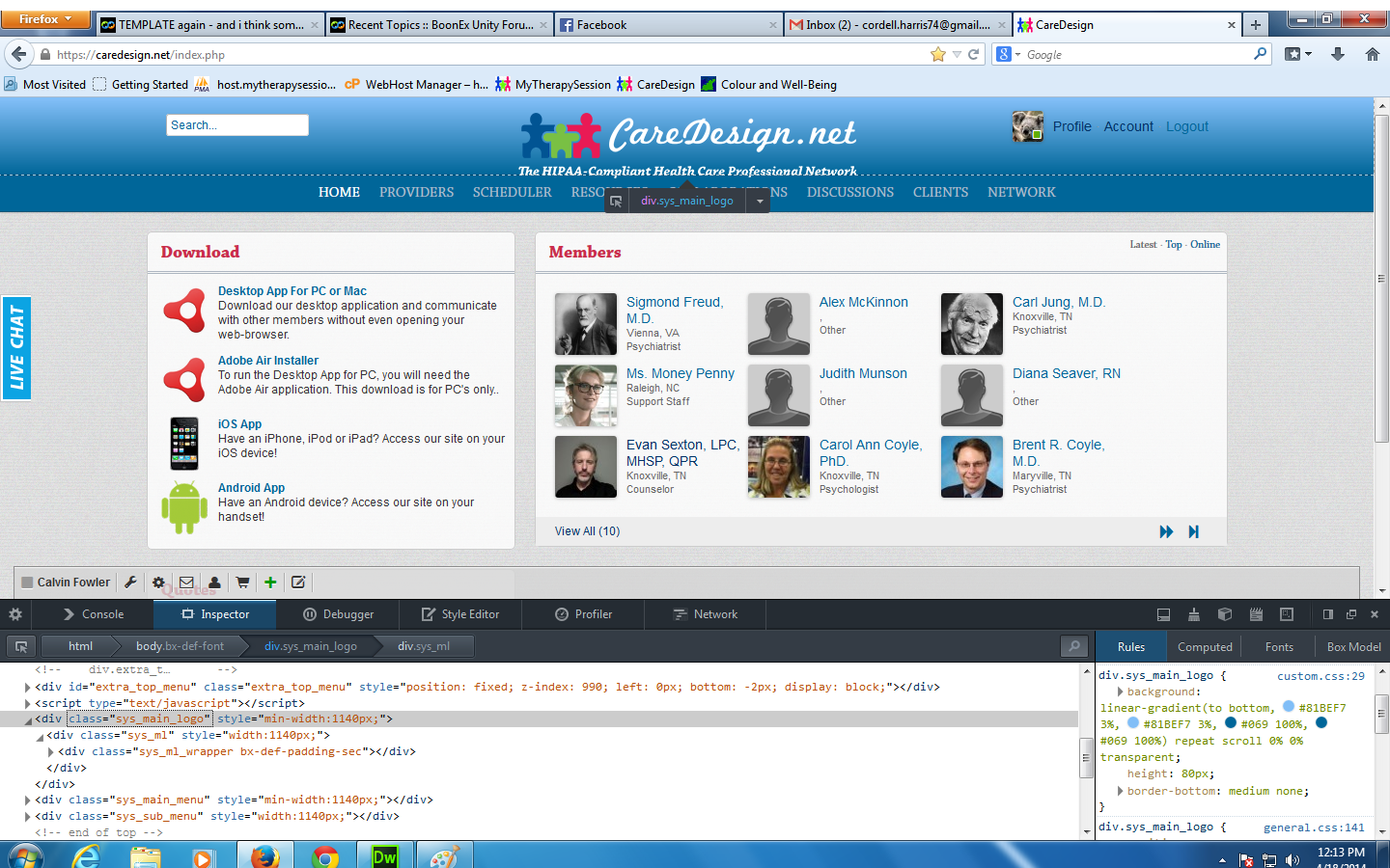 TEMPLATE again - and i think somekind of how to :: BoonEx Unity Forums