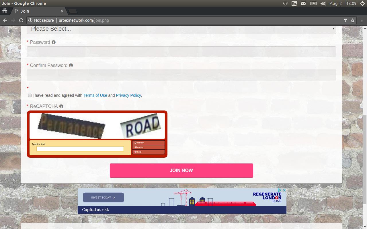 reCAPTCHA in Dolphin 7 3 3 :: BoonEx Unity Forums