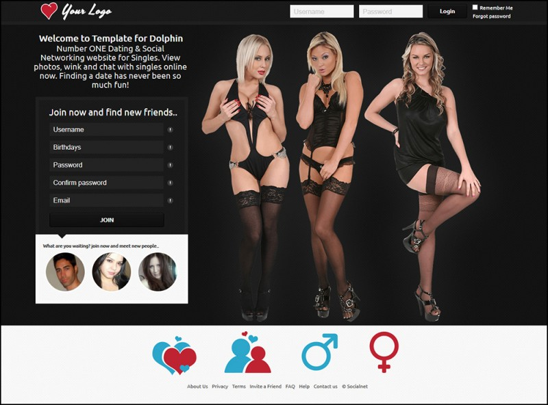 Boonex dating site