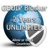 Two years unlimited GeoIP Blocker Token