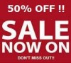 Holiday Sale - 50% Discount