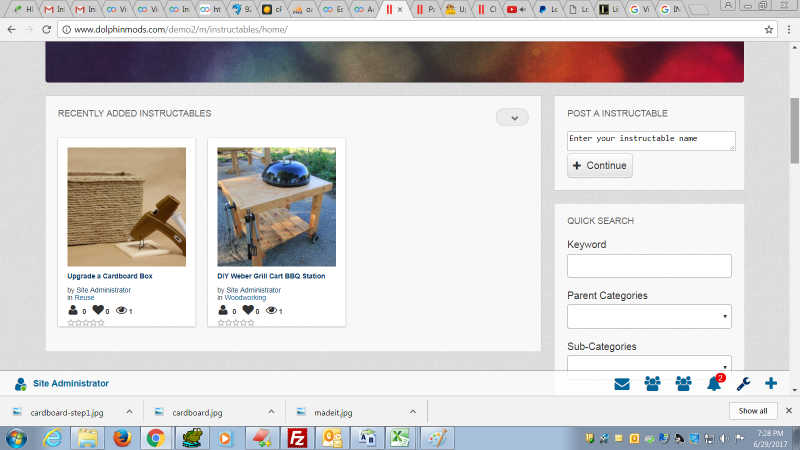 Instructables modzzz instructables adds a specializing section to your website for user created and uploaded do it yourself projects which other users can comment on and rate solutioingenieria Images